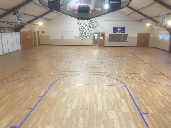 SnapSports Commercial Flooring Install Example 5