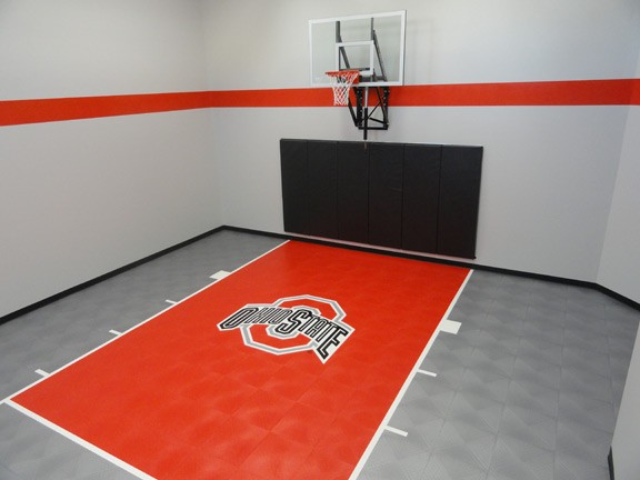 Minnesota game court and basketball court sales and for Indoor basketball court installation