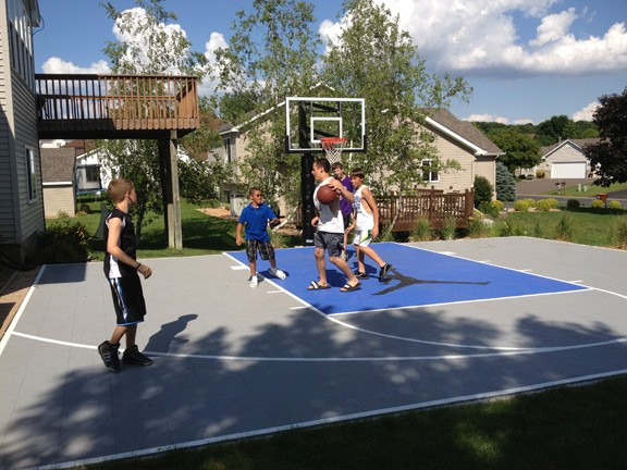Outdoor basketball court - woodbury, mn