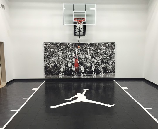 Minnesota game court and basketball court sales and for Indoor basketball court design