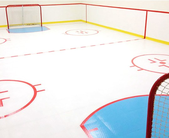 Rollerblade hockey rink flooring and installation in the Twin Cities, MN