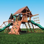 Playground One Original Double Zinger swing set