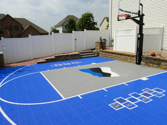 Genial Multi Game Basketball Court Flooring