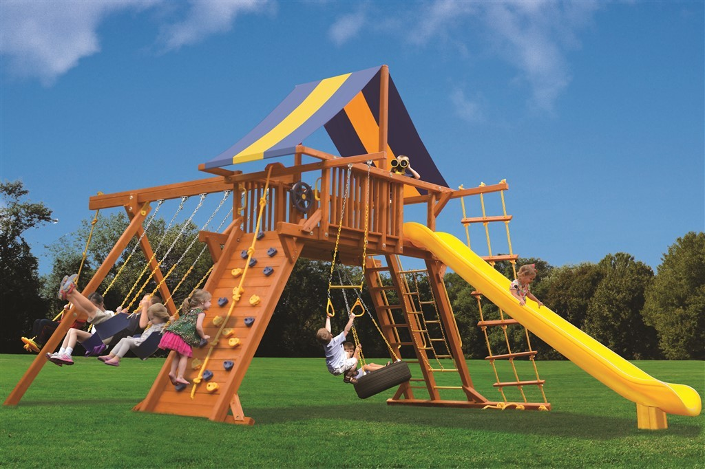 Playground One Extreme Playcenter Swing Set