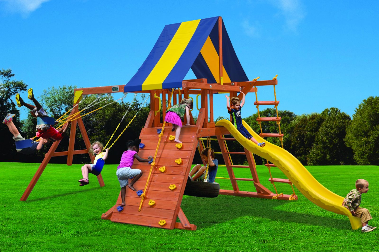 Classic Playcenter Swing Set