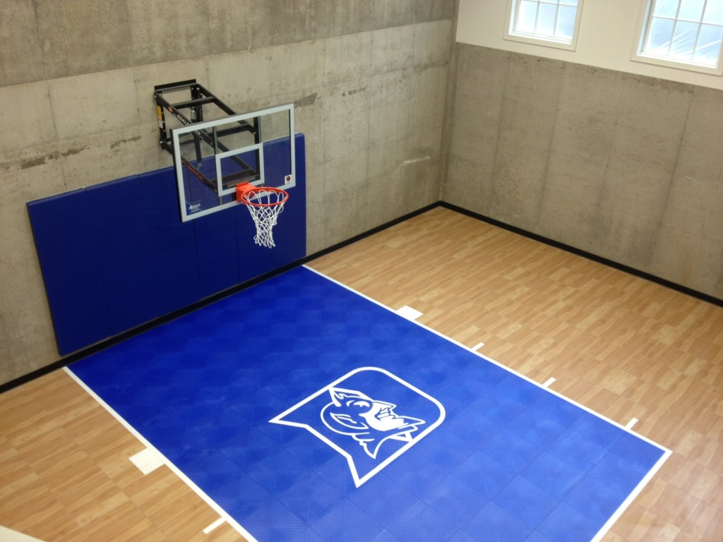 Indoor Home Gyms Amp Courts Athletic Surfaces Millz House
