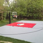 SnapSports Outdoor Basketball Court