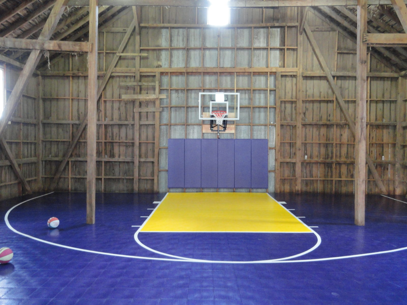 Indoor Home Gyms & Courts Athletic Surfaces