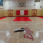 SnapSports school basketball court
