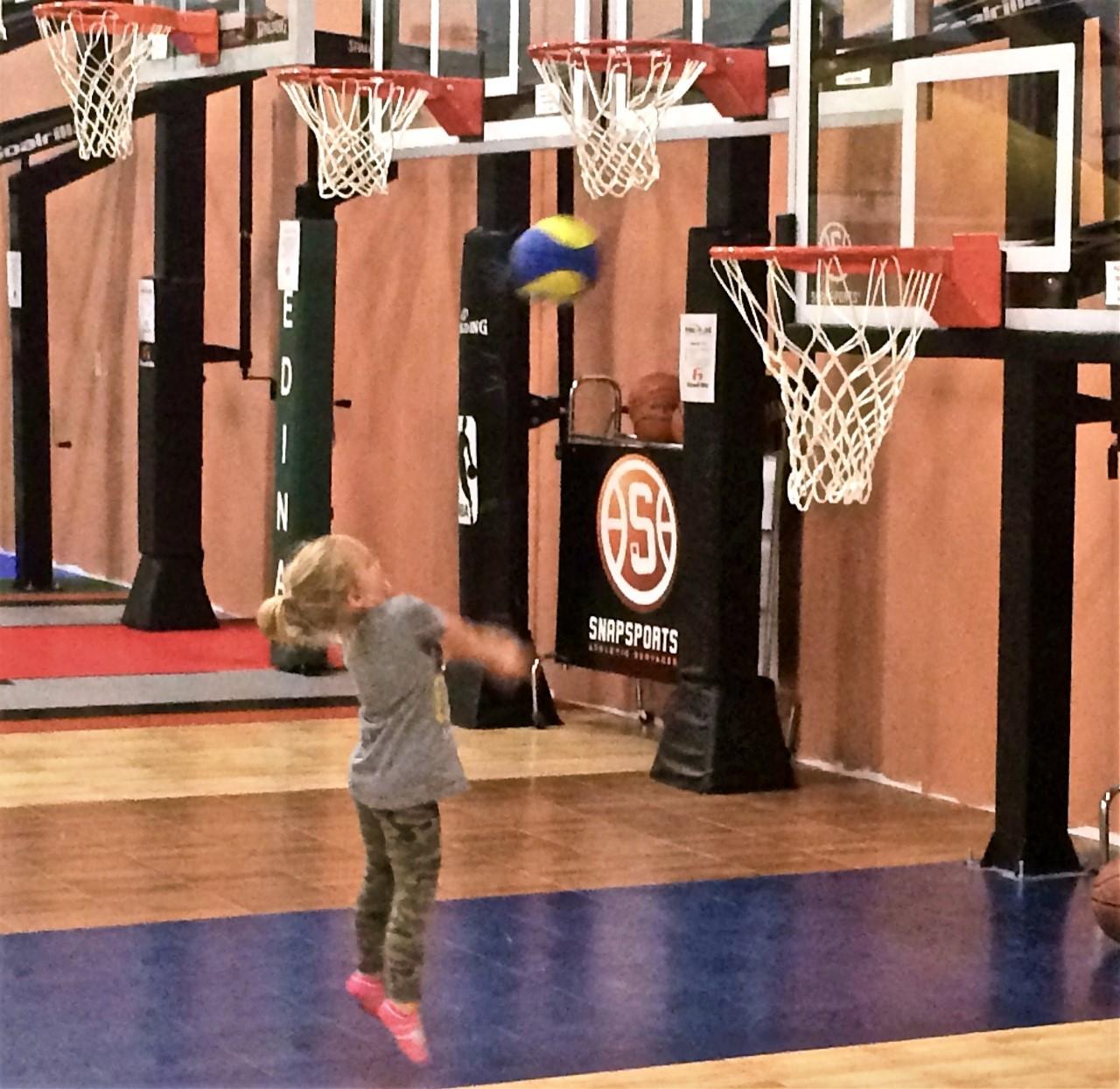Basketball Fun at Millz House