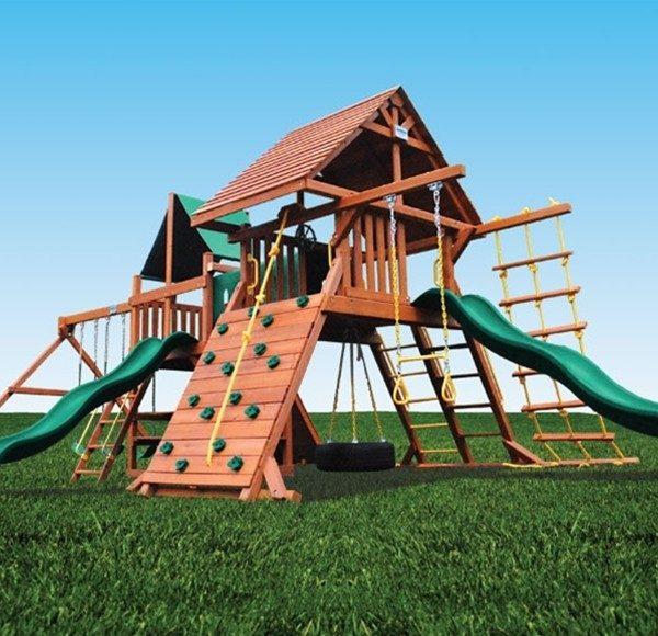 Playground One Original Double Zinger swing set