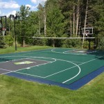 All in one personal play court