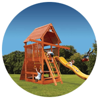 Space Saver Play Centers For Kids