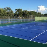 Tennis Court Installation Sample 2