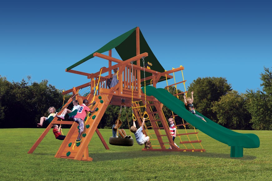 Supreme Playcenter Swing Set