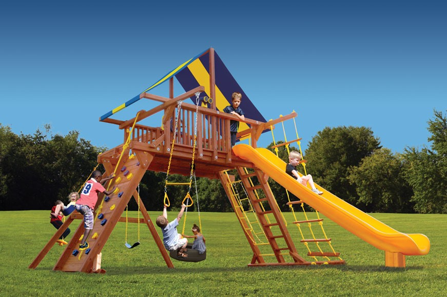 Extreme Playcenter Swing Set