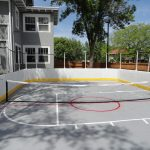 SnapSports Outdoor Hockey Court