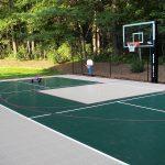 SnapSports multi-sport game court