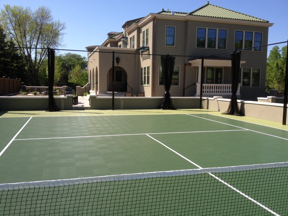SnapSports Outdoor Tennis Court