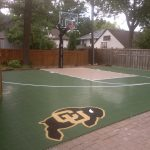 SnapSports backyard game court