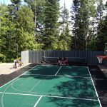 SnapSports multi-use and tennis court