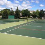 SnapSports tennis court