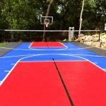 SnapSports tennis and multi-use court
