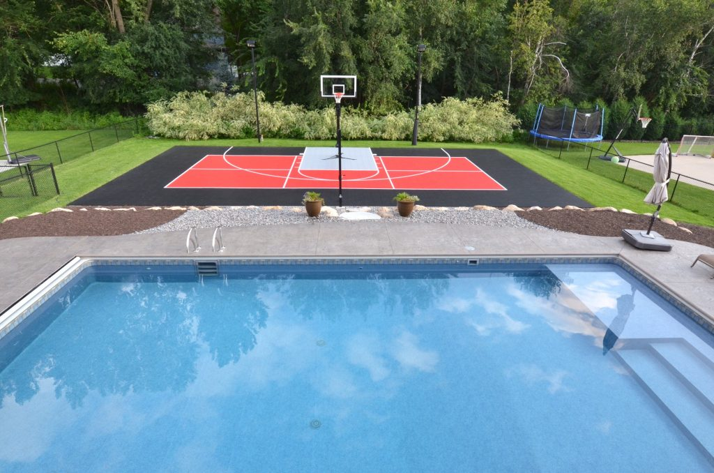 Outdoor Basketball Courts | Game Courts | Millz House ...