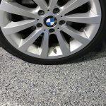 epoxy floor coating garage floor by Millz House/American Garage Solutions_Random Chip