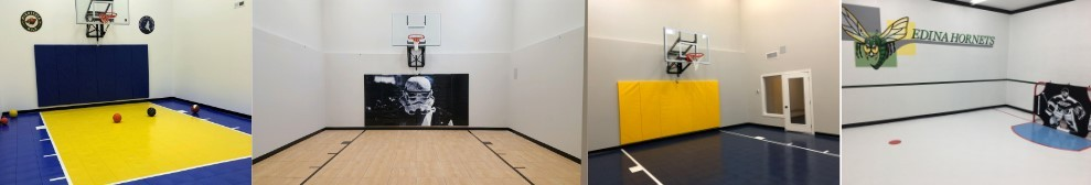 Twin Cities Spring Parade of Homes featuring indoor game courts, basketball courts installed by Millz House