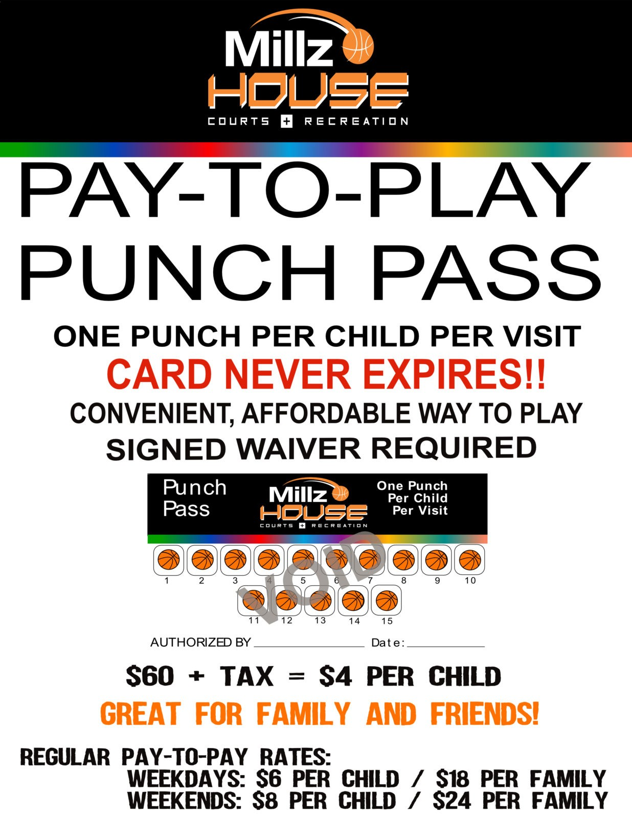 Pay to Play new punch pass4