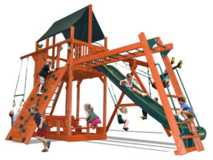 Extreme Fort Combo 3 play set with monkey bars