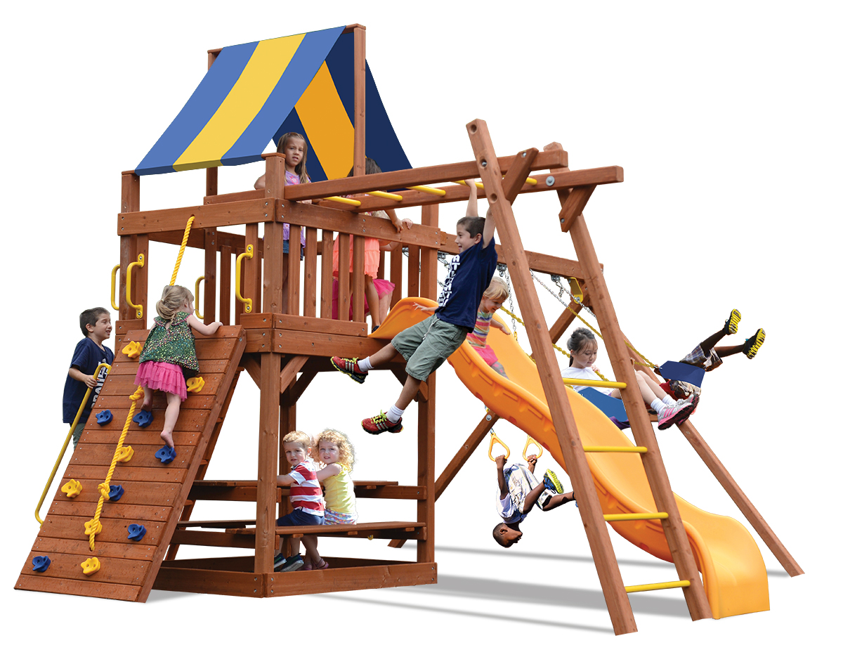 Original Fort Combo 3 play set with Monkey Bars