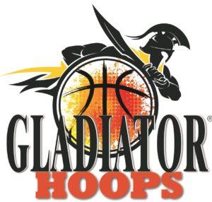 registered logo for Gladiator Hoops basketball hoops