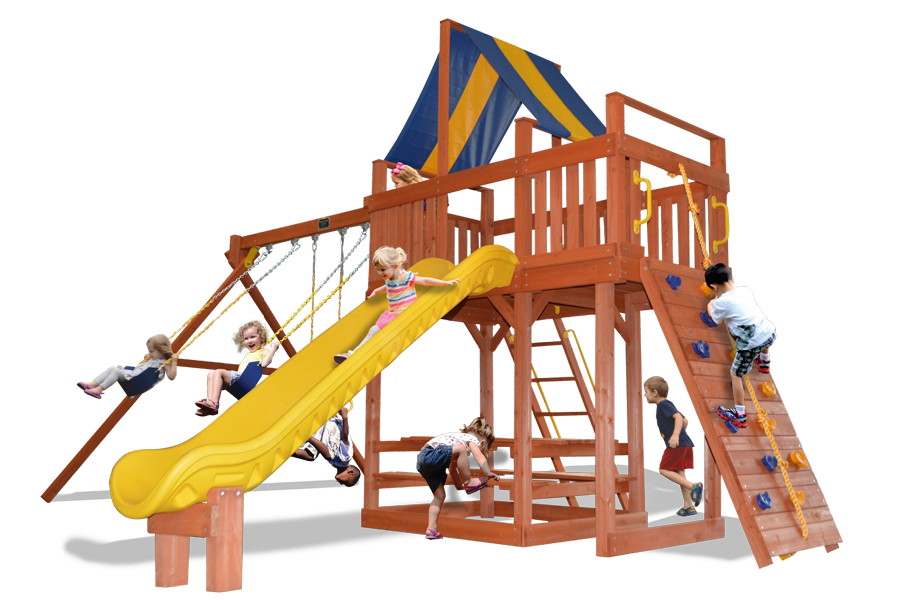Turbo Original Fort Combo 2 XL Play Set with Sun Deck